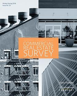 2018 Winter/Spring Allen Matkins/UCLA Anderson Forecast California Commercial Real Estate Survey Cover